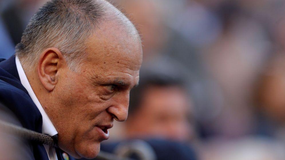 Foto: Javier Tebas, presidente de LaLiga. (EFE)