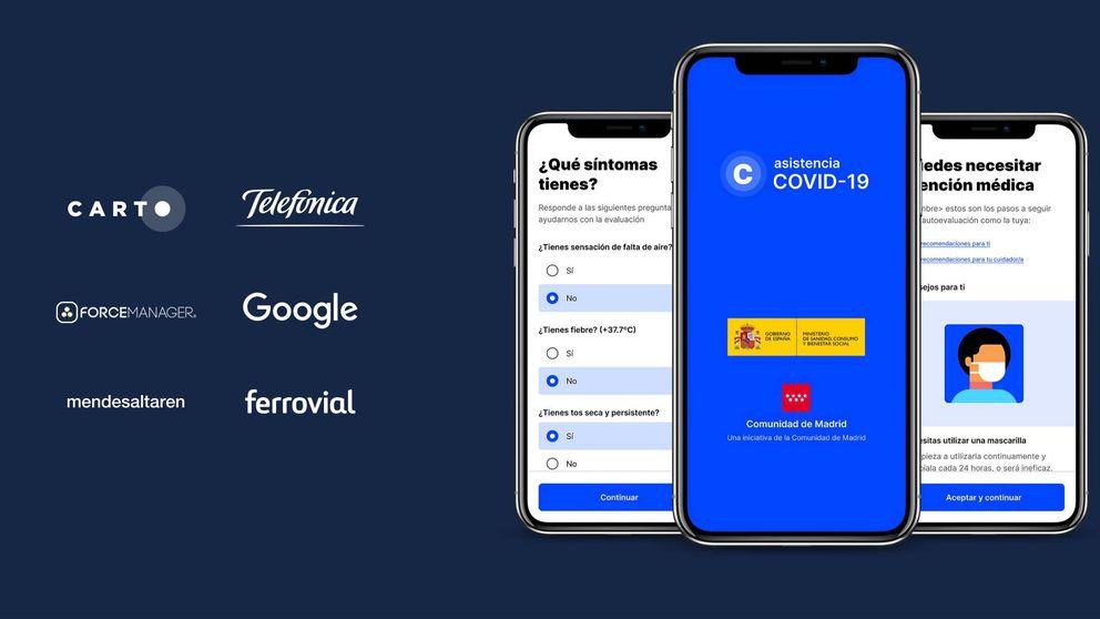Madrid da el primer paso en España y lanza su 'app' contra el coronavirus: así funciona