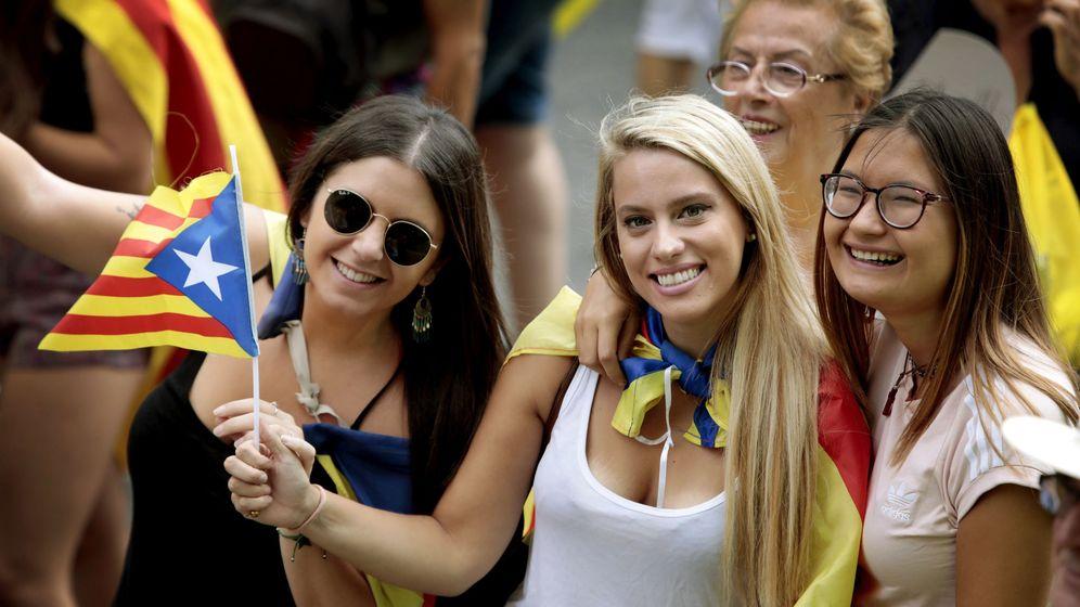 Foto: Celebración de la Diada de Cataluña. (EFE)