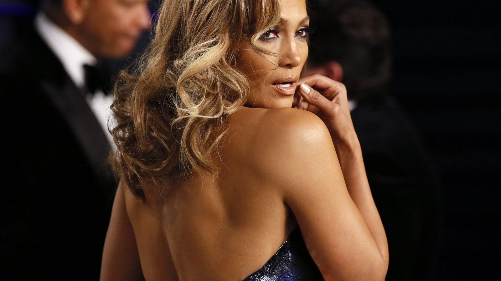 Foto: Jennifer Lopez en la fiesta post-Oscar de 'Vanity Fair'. (Reuters)