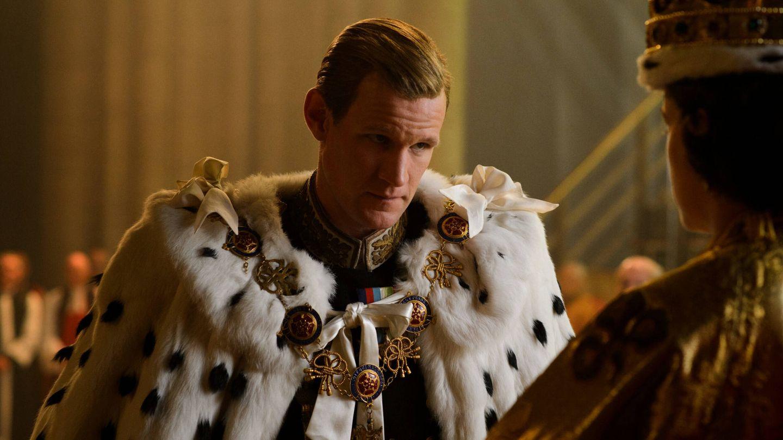 Matt Smith, como el príncipe Felipe en 'The Crown'. (Netflix)