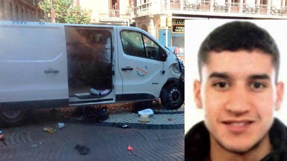 El terrorista de Las Ramblas cayó abatido por 6 balazos de un único mosso