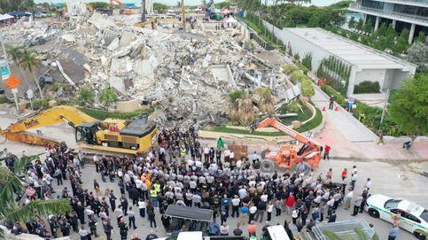 Suben a 64 los muertos por el derrumbe en Miami y 76 personas siguen desaparecidas