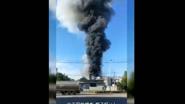 Al menos 6 muertos tras una explosión en una fábrica de productos químicos en China