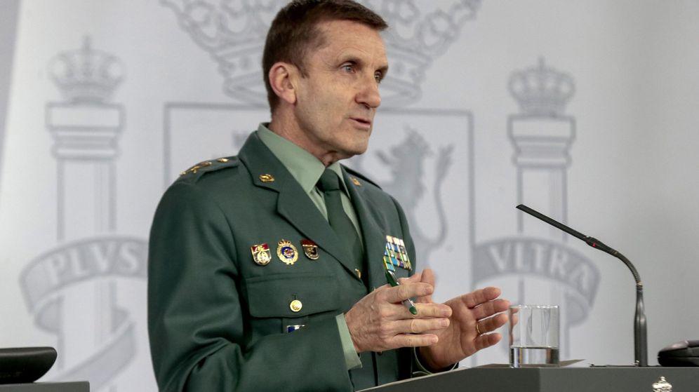 Foto: José Manuel Santiago, general de la Guardia Civil. (EFE)