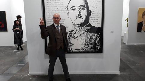 El artista de la obra sobre Franco: O es fácil generar polémica en ARCO o soy el puto amo