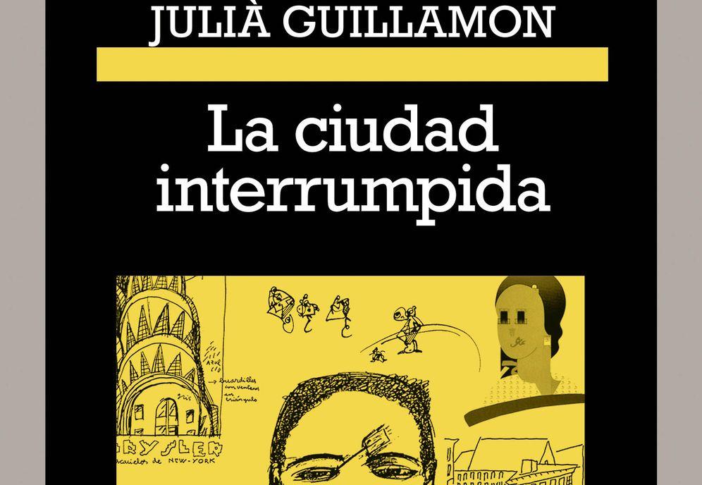 Foto: Detalle de portada de 'La ciudad interrumpida' (Anagrama)
