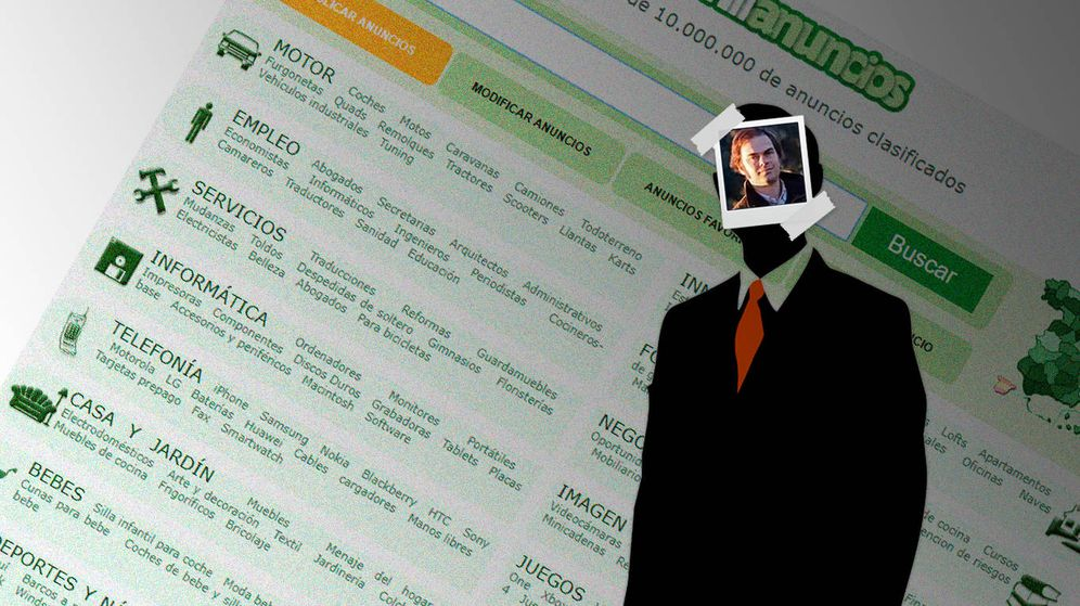 Foto: La única imagen de Ricardo García Cobaleda en internet. (TechCrunch)