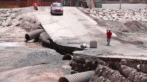 Fuertes inundaciones en el norte de Chile y Super Bowl: el día en fotos