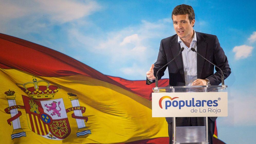 Foto: El presidente popular, Pablo Casado. (EFE)