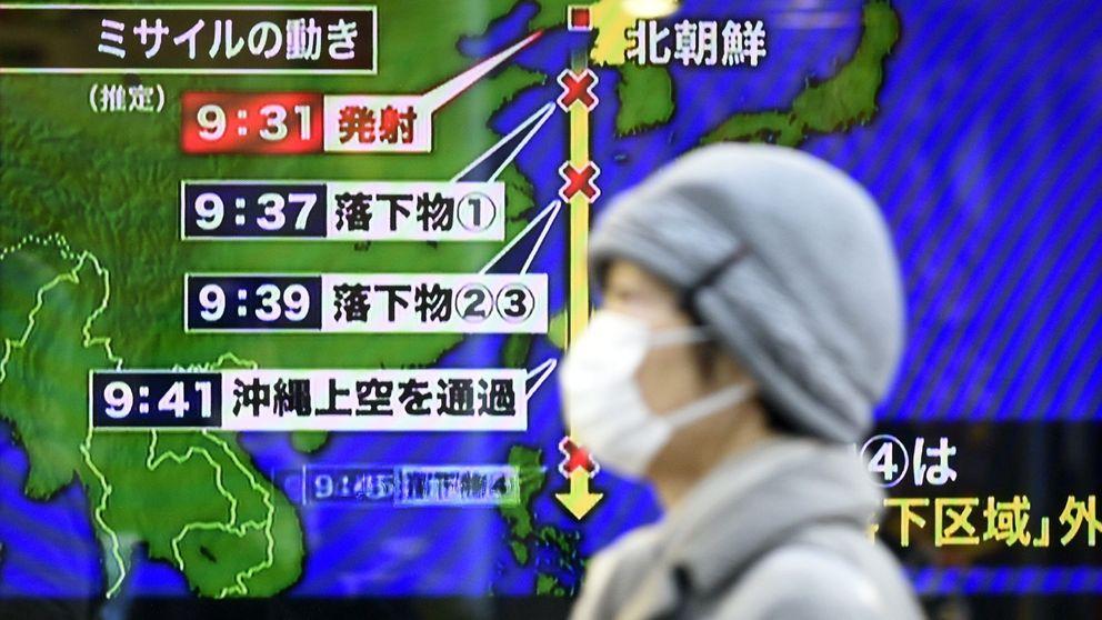 Japón explica a sus ciudadanos cómo actuar ante un misil norcoreano