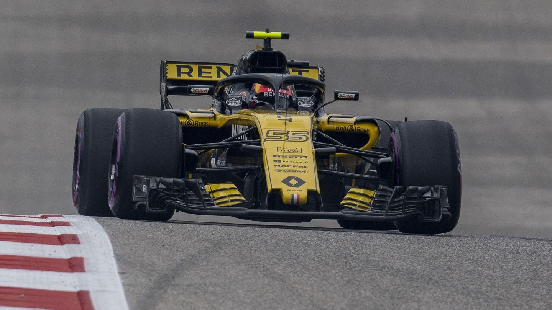 Carlos Sainz durante su participación en el GP de Estados Unidos. (Reuters)