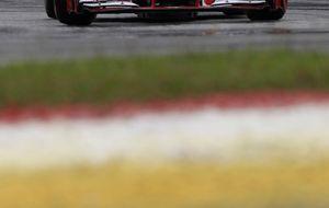 Mejor, imposible en Ferrari, salvo por los empujones de Raikkonen