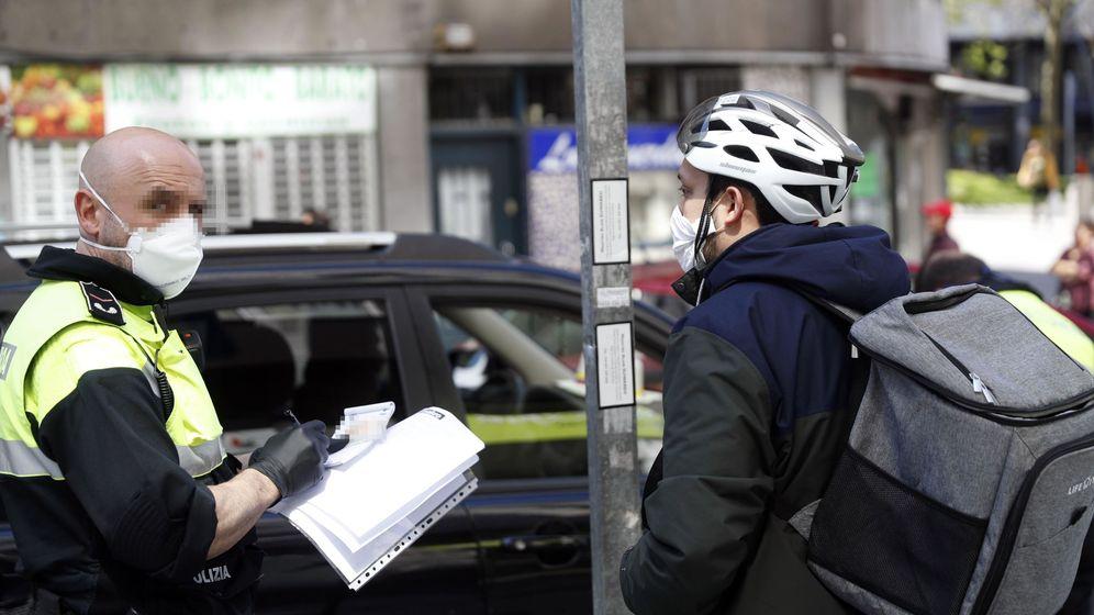 Foto: Sanciones por saltarse el confinamiento.