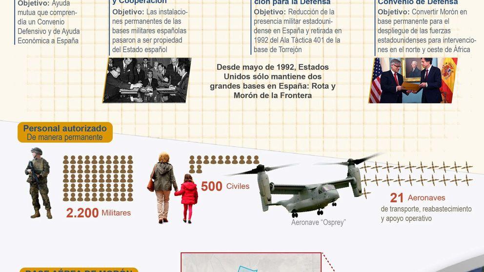 EEUU cuadruplica su presencia militar en España desde 2008