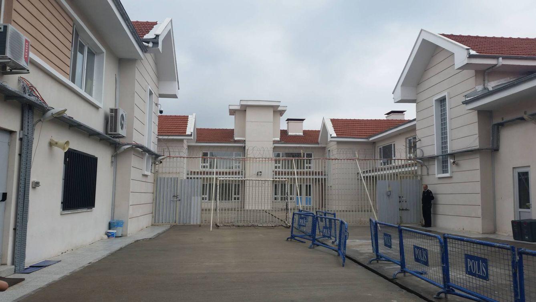 Foto: Imagen del centro de deportación de Edirne (Foto: Pilar Cebrián).