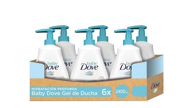 Gel de baño de la cabeza a los pies Dove Baby