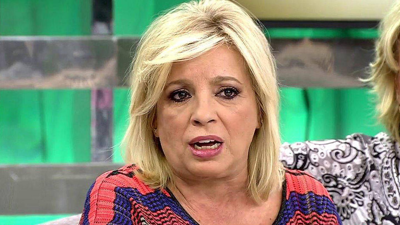 Carmen Borrego en 'Sálvame' hace unas semanas. (Mediaset España)