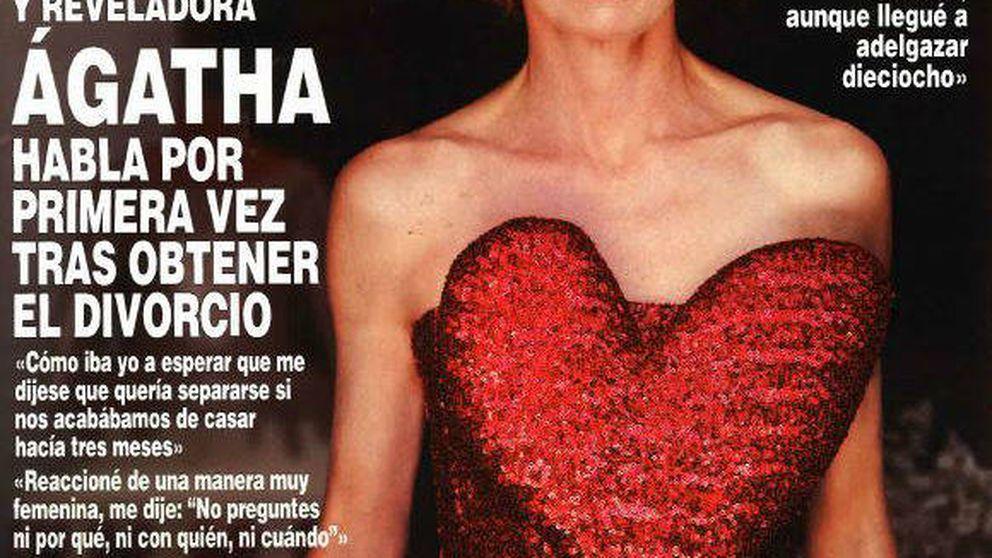 Once frases que resumen la entrevista de la 'renacida' Ágatha Ruiz de la Prada