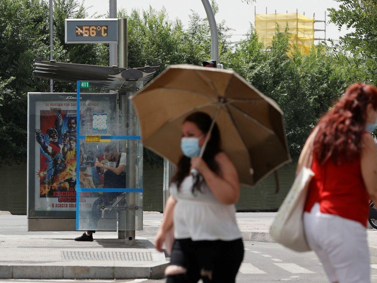 Foto: Este sábado podría convertirse en el día más caluroso en años. (EFE)