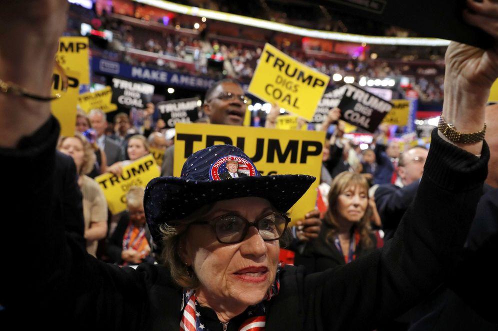 Foto: Partidarios de Trump durante la Convención Nacional Republicana en Cleveland (Reuters)
