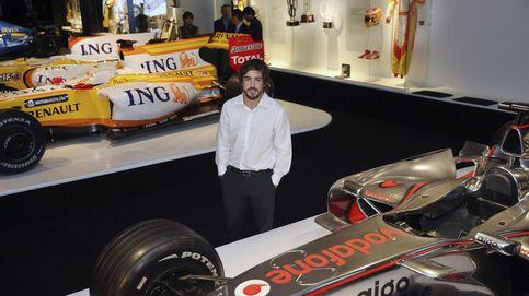Alonso manda mensajes de felicidad a los fans y un dardo a Kimi Raikkonen