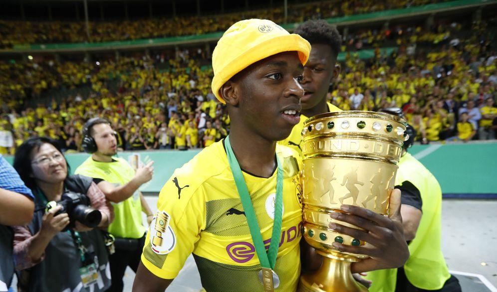 Foto: En la imagen, Ousmane Dembelé. (Reuters)