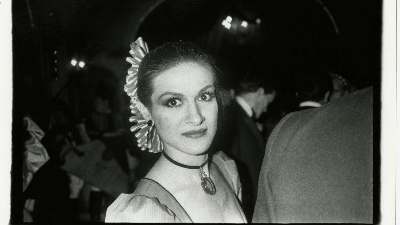Paloma Picasso, en París en 1980. (Foto:  Bob Colacello, 'It Just Happened')