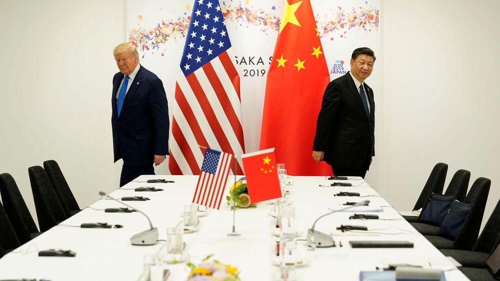 Foto: Donald Trump y Xi Jinping, en una imagen de 2019. (Reuters)