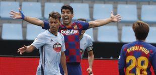 Post de Al Barcelona se le escapa media Liga en Vigo y Luis Suárez culpa a Quique Setién