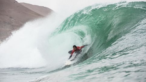 La francesa Justine Dupont podría haber surfeado la ola más grande de la historia del surf femenino en Nazaré (Portugal)