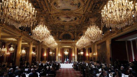El presidente libanés se reúne con el presidente francés