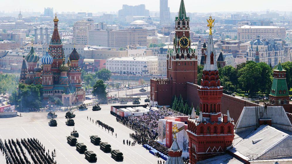 Foto: Desfile del Día de la Victoria en Moscú. (Reuters)