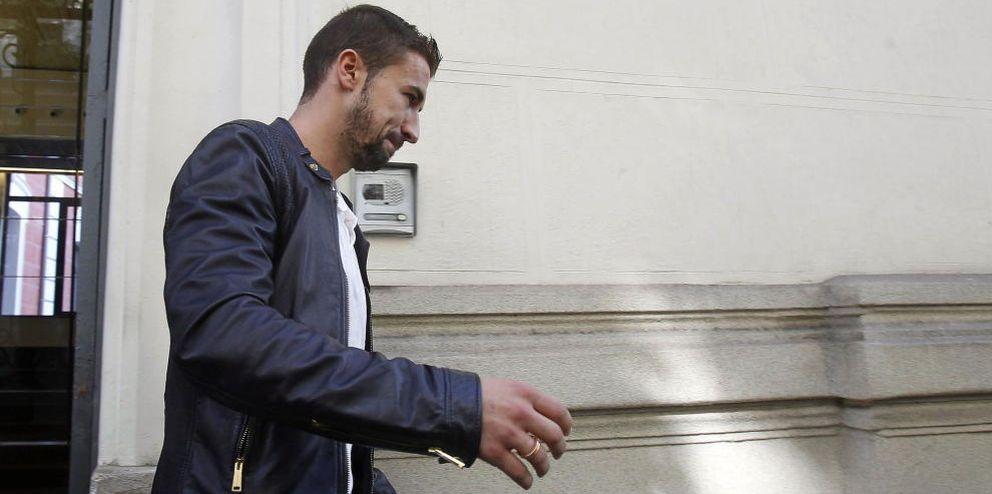 Foto: Gabi sale de declarar sobre el amaño del Levante-Zaragoza.