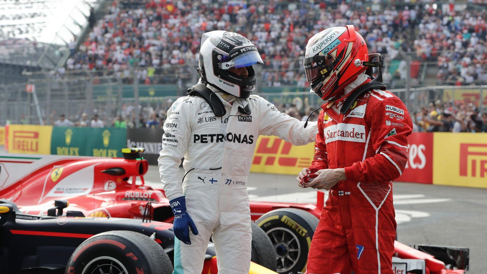 Foto: Ferrari y Mercedes han protagonizado un duelo excepcional a lo largo de todo 2017. (EFE)