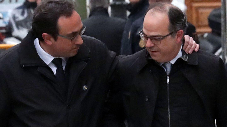 Jordi Turull y Josep Rull, en una imagen de archivo. (EFE)