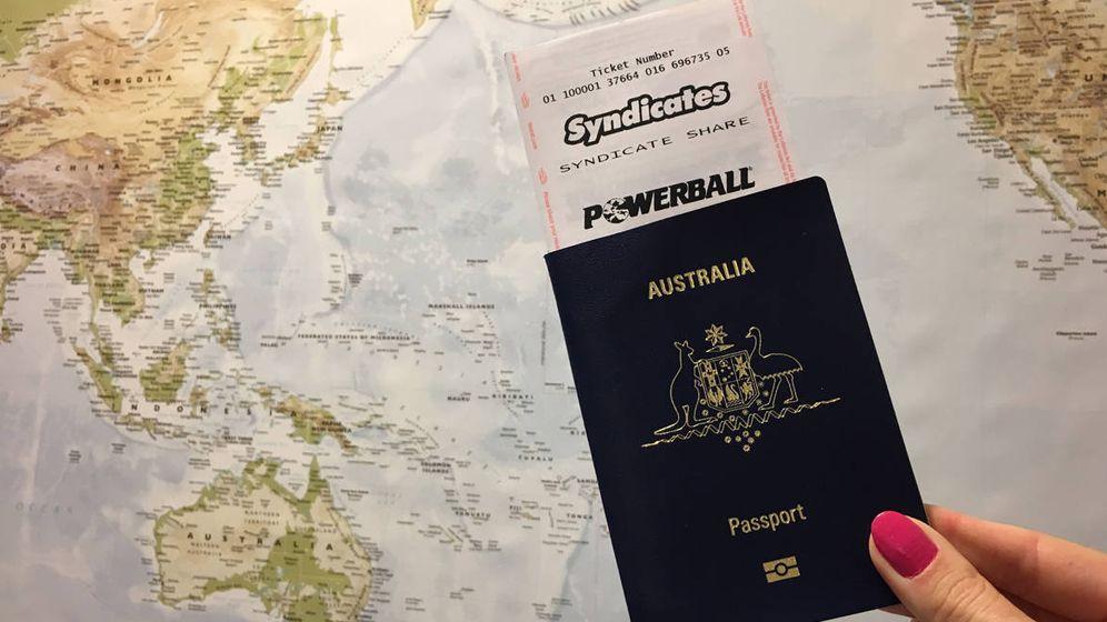 Foto: Girgis se gastó el 75 por ciento del premio en los primeros cinco años tras el sorteo (Foto: TheLotto Australia)