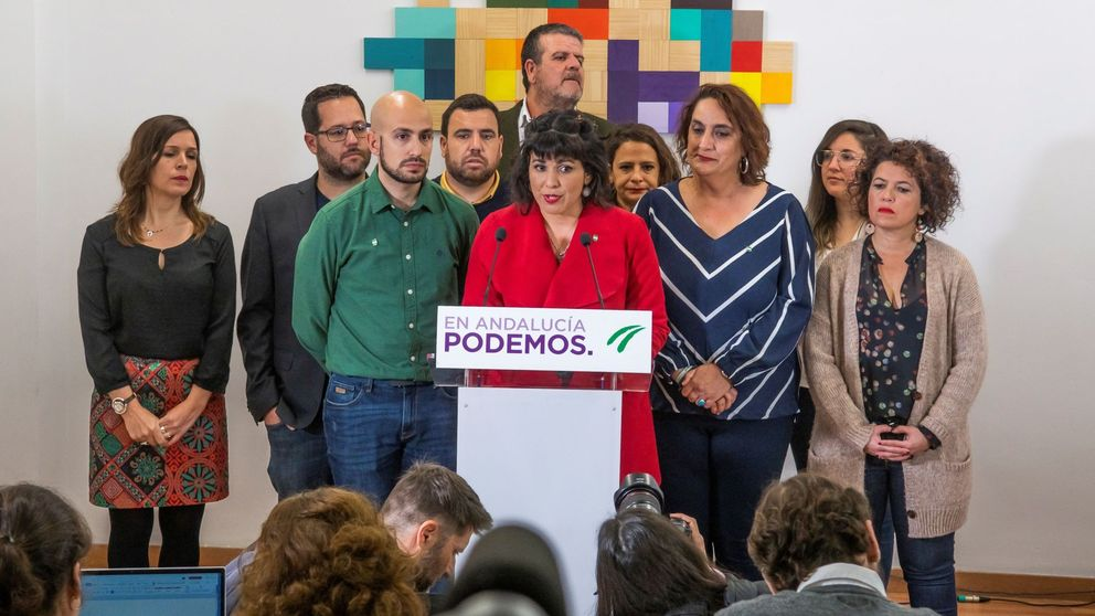 Teresa Rodríguez llama a la cacerolada en los balcones contra el Rey