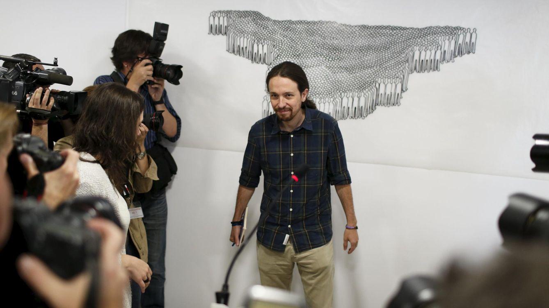 Pablo Iglesias exige la marca 'Podemos' a IU y las mareas para ir juntos a las generales