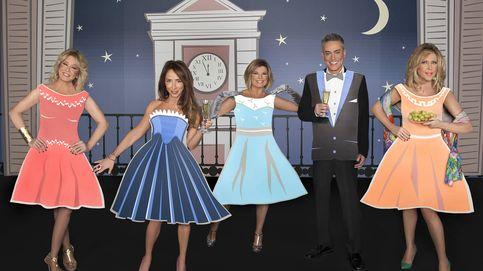 Las 'Campanadas' de Mediaset con Mila, Patiño, Terelu, Lydia y Kiko