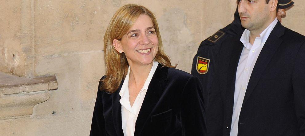 Foto: La infanta Cristina acudiendo a declarar a los juzgados de Palma (Gtres)