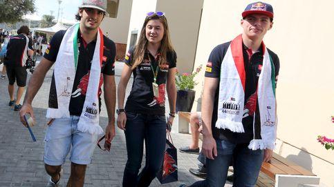 Sainz emergió cuando Verstappen estaba en la cresta de la ola