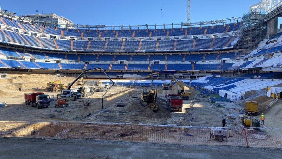 El 'túnel de la risa' retrasa la construcción de la joya del nuevo Santiago Bernabéu