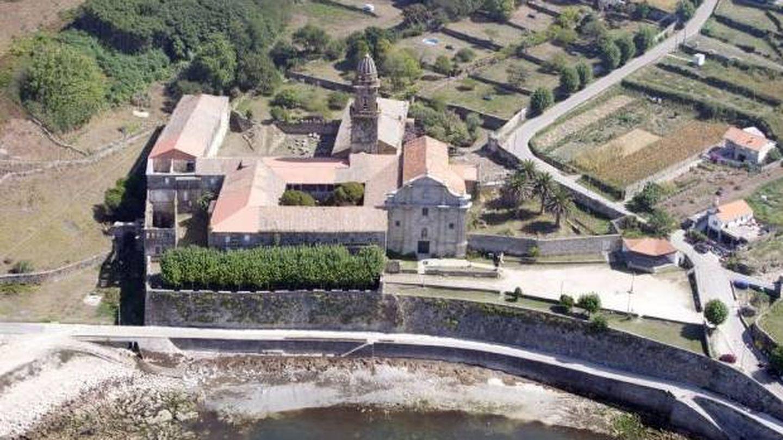El monasterio de Oia es la joya de las Rías Baixas. (Cortesía)