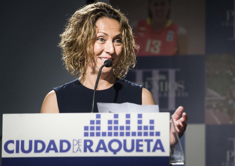 Foto: Gala León es la capitana de la Davis y la Directora Deportiva de la RFET (Efe).
