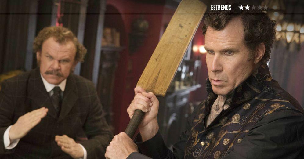 Foto: John C. Reilly y Will Ferrell, en 'Holmes & Watson'.