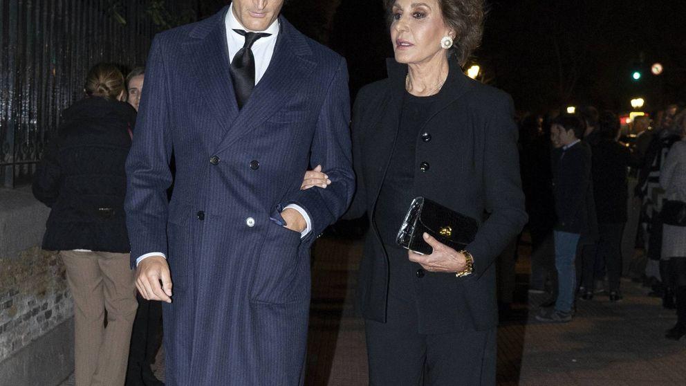 De Naty Abascal a Alfonso Diez: los famosos acuden al funeral de Mercedes Junco