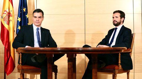 Sánchez y Casado se verán el lunes en Moncloa con Cataluña y la crisis de fondo