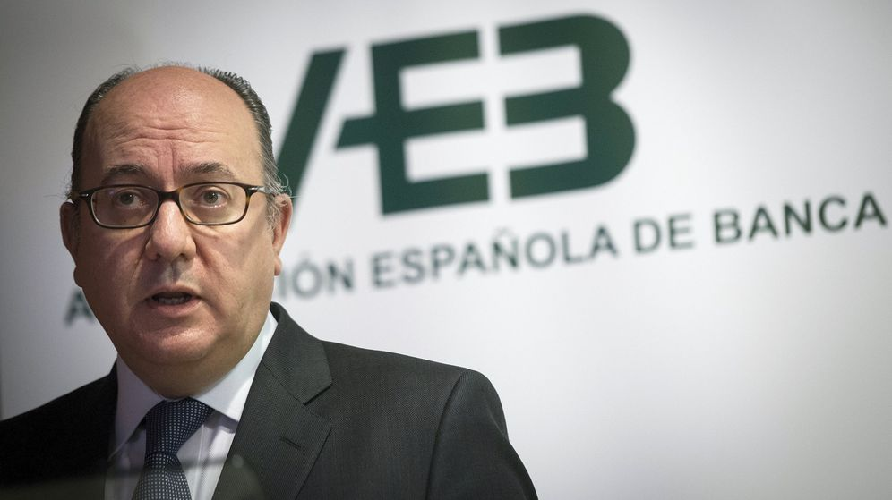 Foto: El presidente de la patronal bancaria española (AEB), José María Roldán. (EFE)