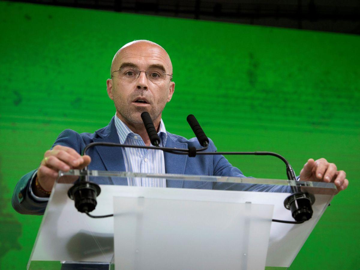 Foto: El portavoz de Vox, Jorge Buxadé, en una imagen de archivo. (EFE)
